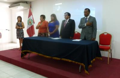 ESECS FIRMA CONVENIO ACADÉMICO CON EL COLEGIO DE ENFERMEROS DEL PERÚ