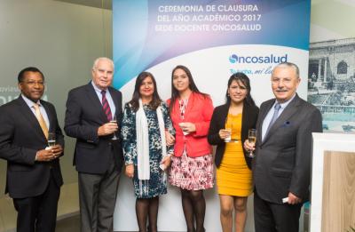 CEREMONIA DE CLAUSURA DE RESIDENTADO MÉDICO  2017 - SEDE DOCENTE ONCOSALUD